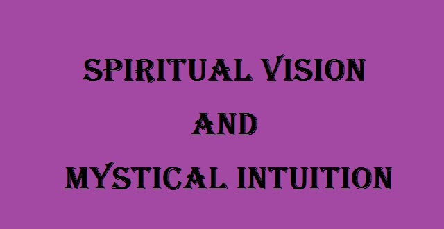 Mystical Intuition