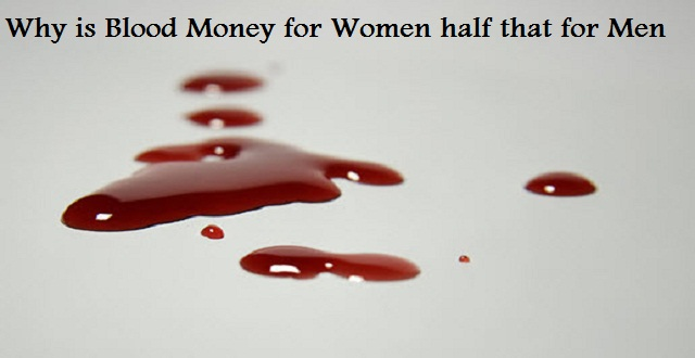 Why is Blood Money for Women half that for Men?