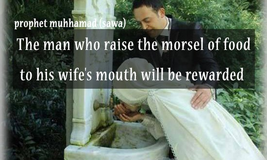 The rewards of men who help their Wives