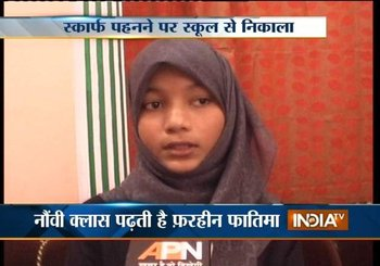 Indian Muslim Denied Entry to Class for Hijab