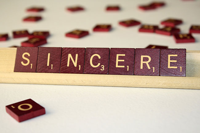 being-sincere-