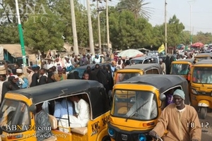 Huge Rally at Fagge, Kano after Friday Prayers in Support of Sheikh Zakzaky