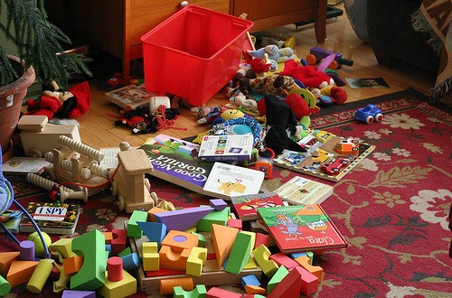 My teenaged son keeps a very messy room, what can I do to break him of this bad habit?
