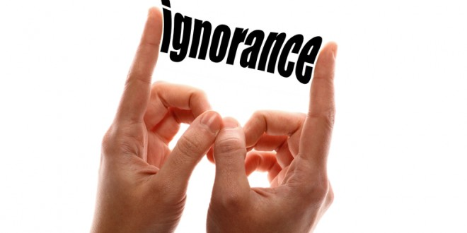 Why Is There Still Ignorance Despite So Many Efforts For Popularizing Knowledge?